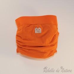 Couche lavable d'occasion orange Gladbaby - www.rebelledenature.fr