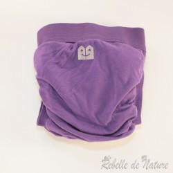 Couche lavable d'occasion violette Gladbaby - www.rebelledenature.fr