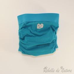 Couche lavable d'occasion bleue Gladbaby - www.rebelledenature.fr