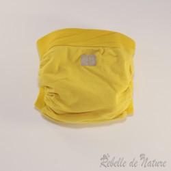 Couche lavable d'occasion jaune Gladbaby - www.rebelledenature.fr