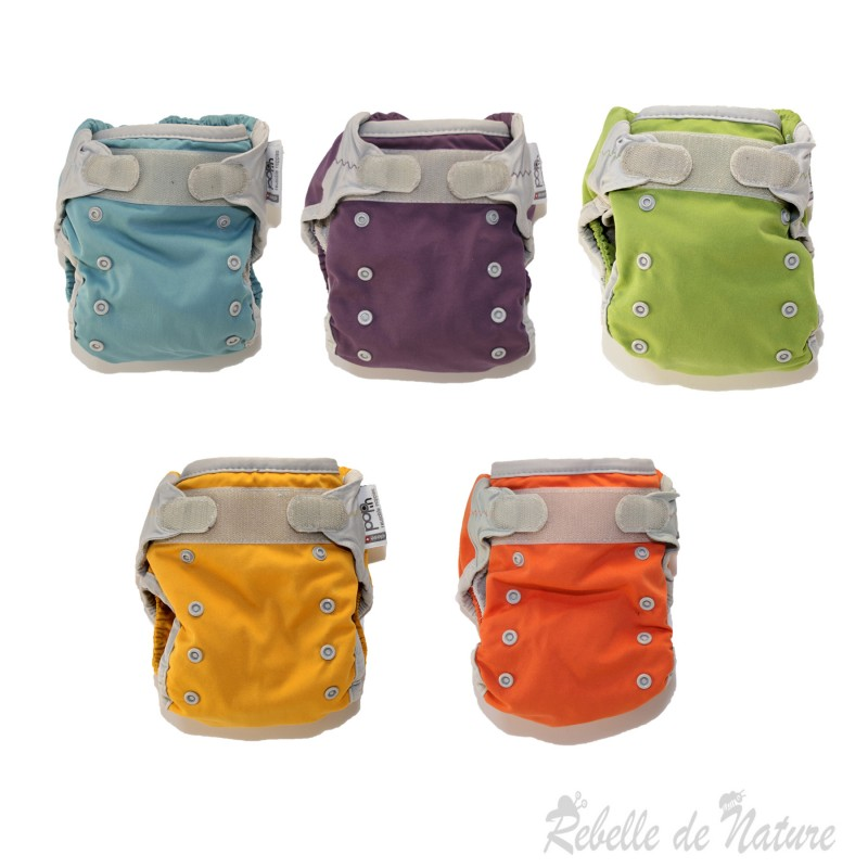 Couche lavable d'occasion Pop'in Insert bambou - www.rebelledenature.fr