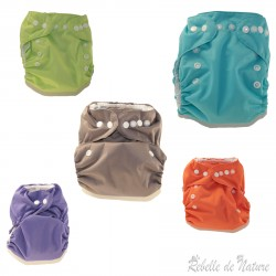 Couche lavable so easy p'tits dessous Violette - www.rebelledenature.fr
