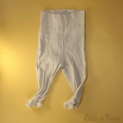 Pantalon avec pieds en...