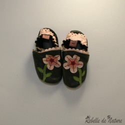 Chaussons fleur