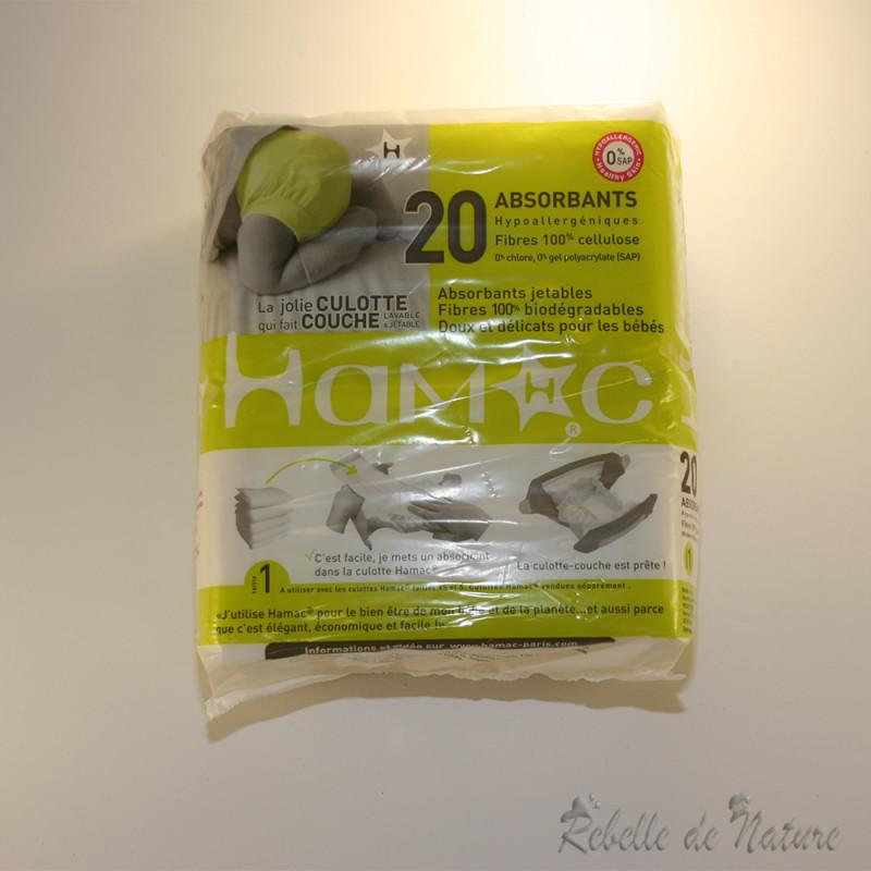 Lot de 20 absorbants jetables hamac - Couches lavables d occasion ...