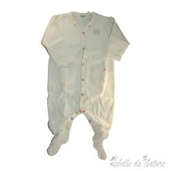 Pyjama épais en coton bio neuf
