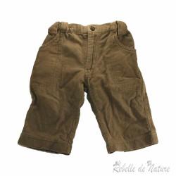 Pantalon en côte de...