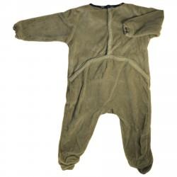 Pyjama gris en velours orné...