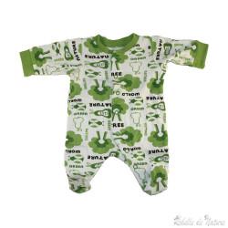 Pyjama naissance en coton bio
