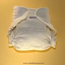 Couches lavables UltraFit Popolini d'occasion en coton biologique - www.rebelledenature.fr