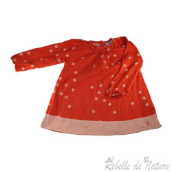 Robe La Queue Du Chat  rose...