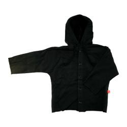 Veste noire en coton bio