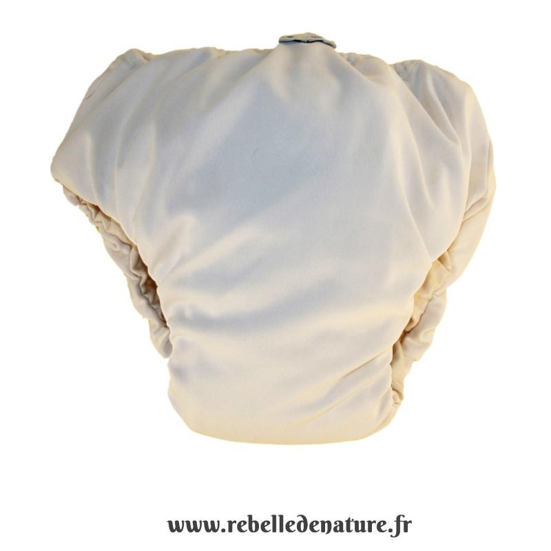 Culotte d'apprentissage Popolini blanche d'occasion -www.rebelledenature.fr