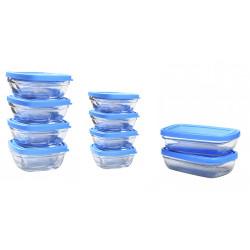 Set pour bébé 10 boites en verre avec couvercle Duralex - zéro déchet
