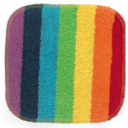 lingette multicolore en coton
