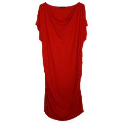 Robe de grossesse rouge