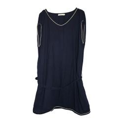 Robe de grossesse bleu marine d'occasion