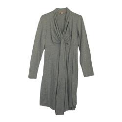 Robe de grossesse gris claire