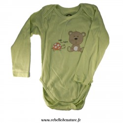 Body manches longues vert