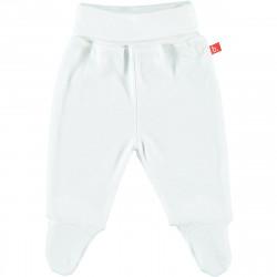 Pantalon coton bio avec pieds