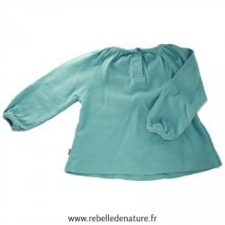 Tee-shirt bleu renard épais