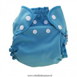 Couches lavables Apple cheeks  bleu d'occasion - www.rebelledentaure.fr
