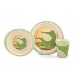 Coffret vaisselle en bambou