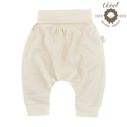Pantalon sarouel en laine
