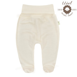 Pantalon avec pieds en laine