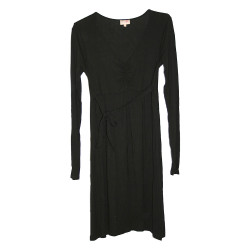 Robe de grossesse noire