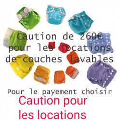 Caution location de couches...