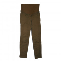 Pantalon de grossesse marron