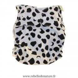 Couche lavables dalmatien B'bies TE2 à poche - www.rebelledenature.fr