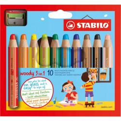 Boîte STABILO Woody 3in1