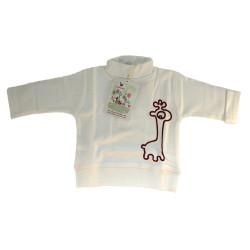 Tee-shirt blanc la queue du...