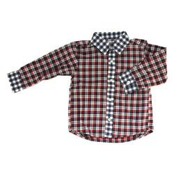 Chemise à carreau en coton...