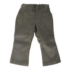 Pantalon velour en coton pima
