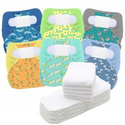 Pack de 6 Couches lavables...