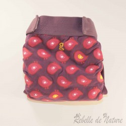 Couches lavables d'occasion gDiapers motifs poussins TE3 - www.rebelledenature.fr