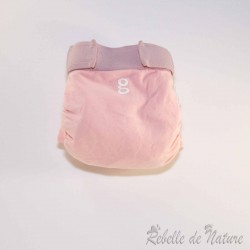 Couches lavables d'occasion gDiapers rose clair TE3 - www.rebelledenature.fr